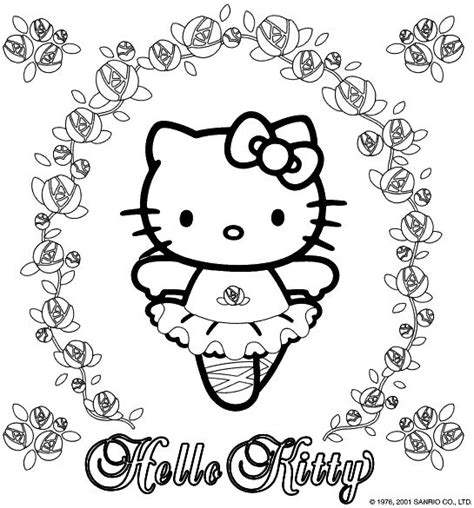 coloring pages printable hello kitty 5 ace images best 25 hello kitty coloring ideas on pinterest hello