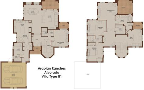 arabian ranches floor plans alvorada b1 arabian ranches dubai floor plans