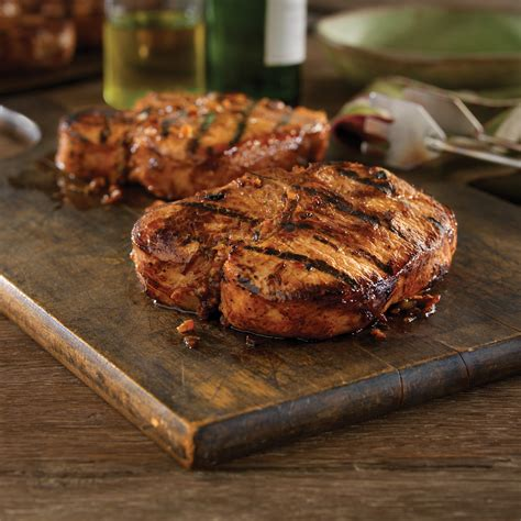 grilled bone in pork chops with hawaiian marinade pork recipes pork be inspired
