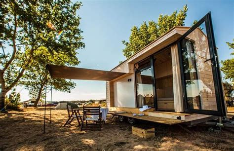 vacation in a tiny house minimalist tiny house is a family vacation getaway on