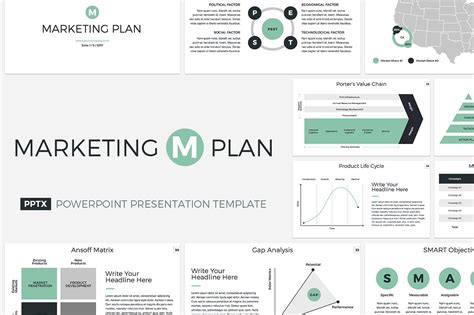 corporate marketing plan template marketing plan powerpoint template presentation