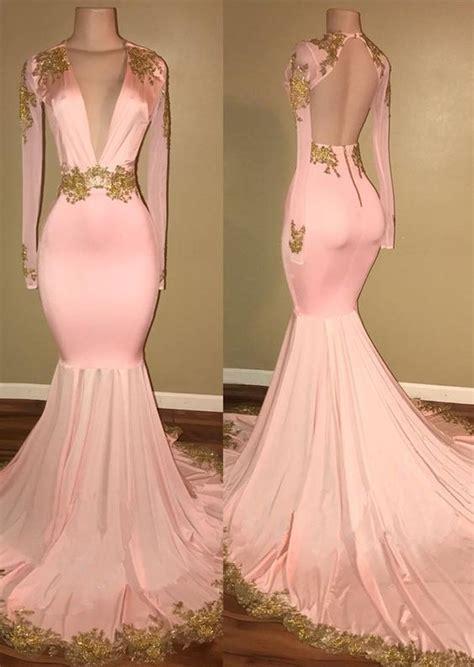 Enfocus Blue Flowers Vneck Dress Original new fashions prom dress sleeve v neck prom dress 2018 mermaid with gold h0102