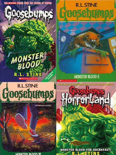 list of goosebumps books with pictures repin if you the whole blood collection