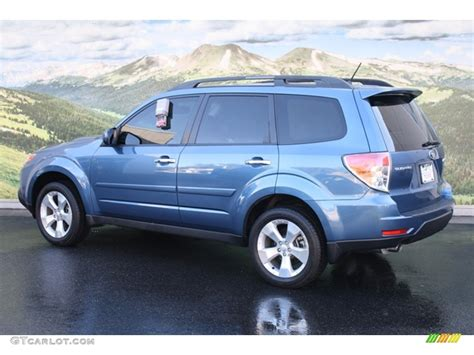 blue subaru forester 2009 newport blue pearl 2009 subaru forester 2 5 xt limited