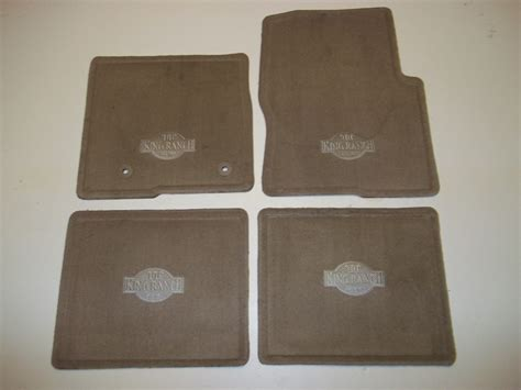 King Ranch Floor Mats 2011 2012 2013 ford f150 king ranch carpeted floor mats 4