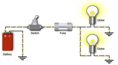 closed circuit diagram creating sparks with e learning