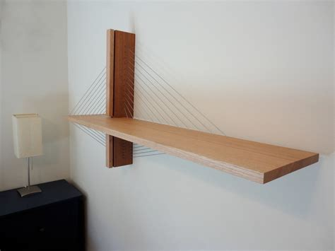 Suspended Shelf by Suspension Shelf Robby Cuthbert Design