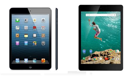 best small tablets best 7in and 8in tablets of 2015 pc advisor