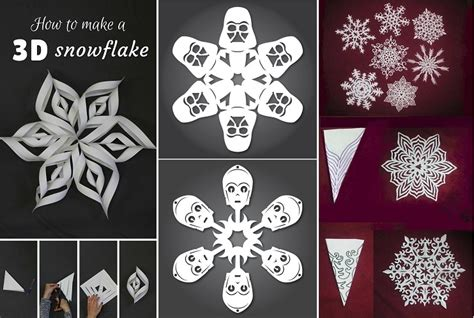 Paper Snowflakes Patterns - pin paper snowflakes patterns on