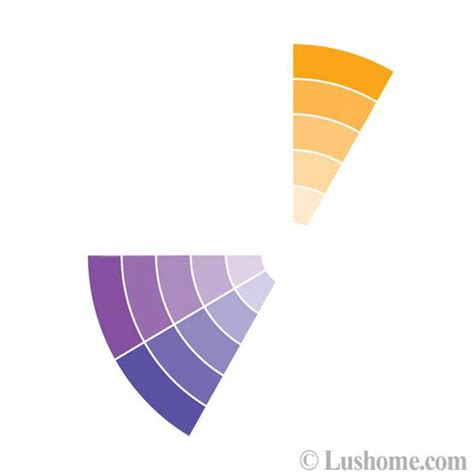 purple and orange color scheme stylish fall color schemes for interior design and