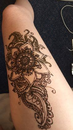 henna tattoo wiesbaden 1000 ideas about thigh henna on henna mehndi