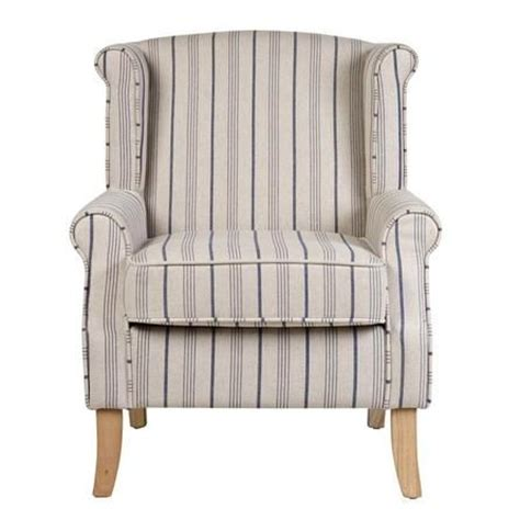 blue striped armchair 40 best images about little bedroom on pinterest armchairs natural curtains and snug room