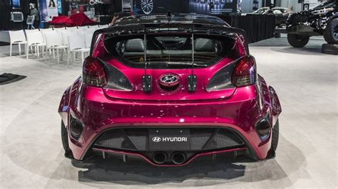 2013 Hyundai Veloster Accessories by 2013 2017 Veloster Turbo Oem Vented Rear Diffuser Socal