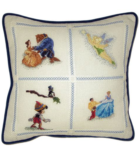 Counted Cross Stitch Pillow Kits by Disney Dreams Collection Pillow Counted Cross Stitch Kit