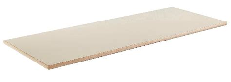 chants de table plateau de table 130 x 50 cm revetu stratifie beige chants
