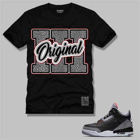 T Shirt Original sneakergeeks clothing original 3 t shirt to match the