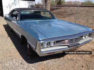 1969 Chrysler Newport 1969 Chrysler Newport 4 Door