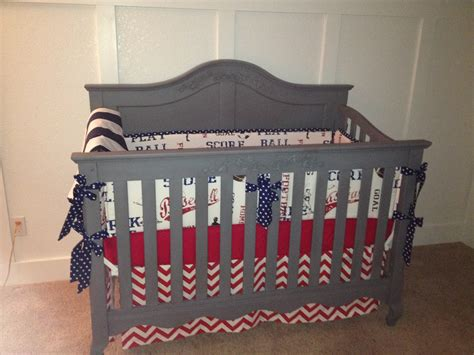 Baseball Baby Bedding Crib Sets Baseball Nursery Bedding Decorating Modern Home Interiors