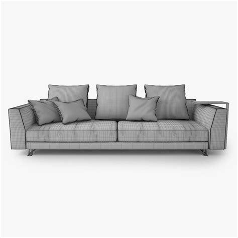 busnelli sofa busnelli burton sofa 3d model max obj fbx cgtrader com
