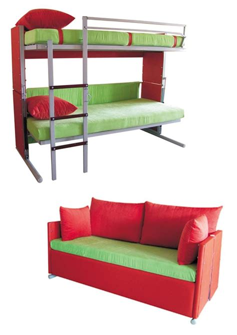 a sofa bed which turns into bunk beds multifunction designs that turns into bunk beds