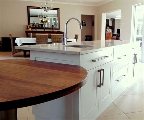 kitchen island with attached table 7 best images about island with round table attached on