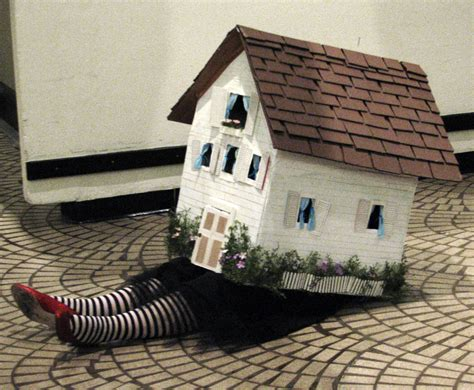 wizard of oz house wizard of oz dorothy s house witch feet a photo on