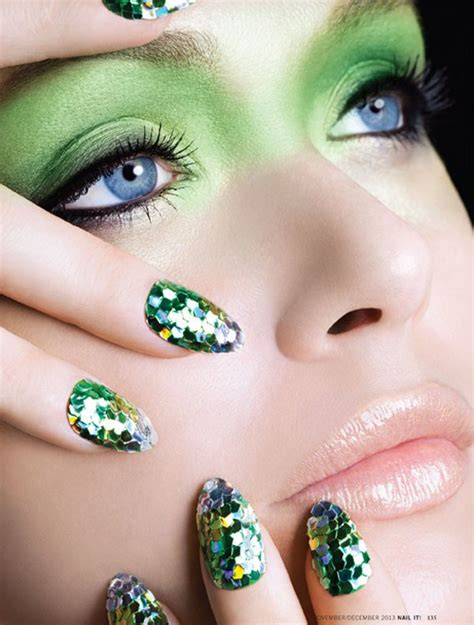 nail magazine of the glitter by dorit thies for nail it magazine