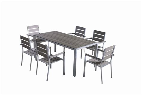 polywood patio dining set with 6 chairs
