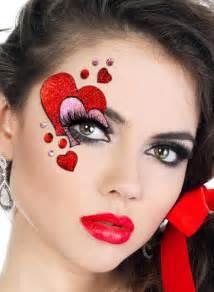 heart mask women s stick on makeup