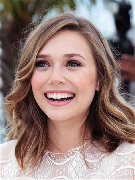 Shoulder Length Hairstyles For Wavy Hair by 15 Best Bob Brown Hair Bob Hairstyles 2017