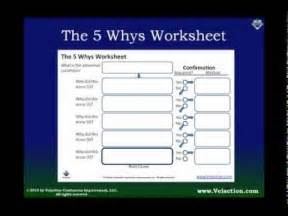 5 why template excel using the 5 whys worksheet