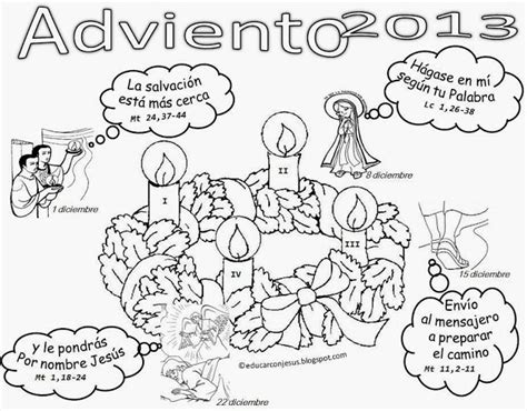 imagenes para colorear corona de adviento la catequesis el blog de sandra calendarios adviento