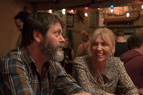 nick offerman record store movie review nick offerman in feel good father daughter