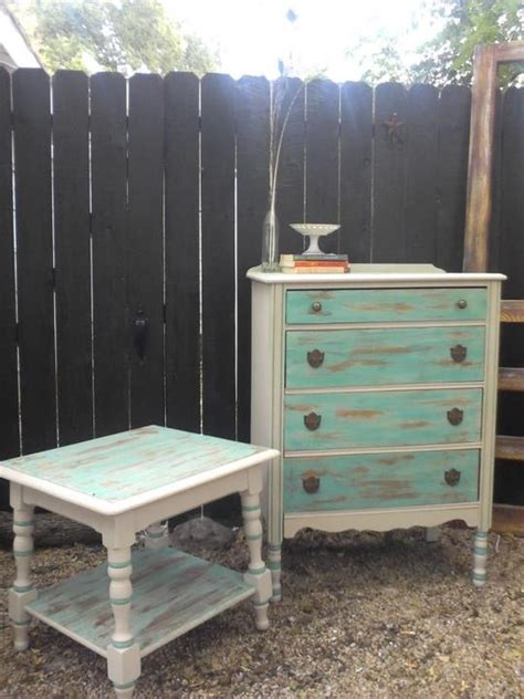 Diy Bedroom Set Diy Seafoam Bedroom Set I Painted For The Home