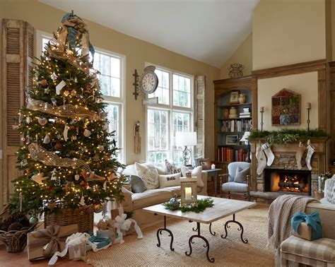 Phenomenal stocking tree holder stand decorating ideas images in family room farmhouse design ideas