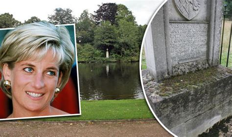 diana grave shocking state of princess diana s island grave on the