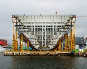 When Was World Built Photos Of The Largest Ship In The World Being Built In