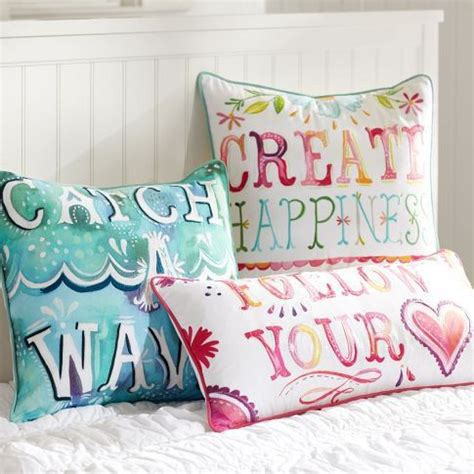 cushions for girls bedroom cute inspirational pillows for a teen girl s room cute