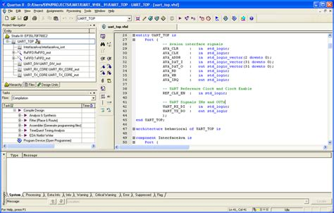 pattern programs in unix file extension bdf quartus ii block design file