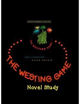 Novel The Westing the westing novel study 70 pages questions vocab