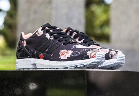 zx flux floral pattern adidas zx flux quot black floral quot