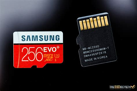 Samsung Evo Plus Microsdxc Uhs I Card With Adapter 64gb 100mb S Merah samsung evo plus microsdxc uhs i card review 256gb so much v nand the ssd review