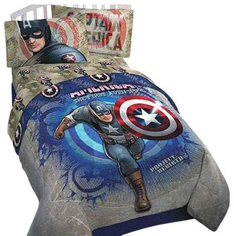 captain america bedding captain america marvel comics twin single bedding set