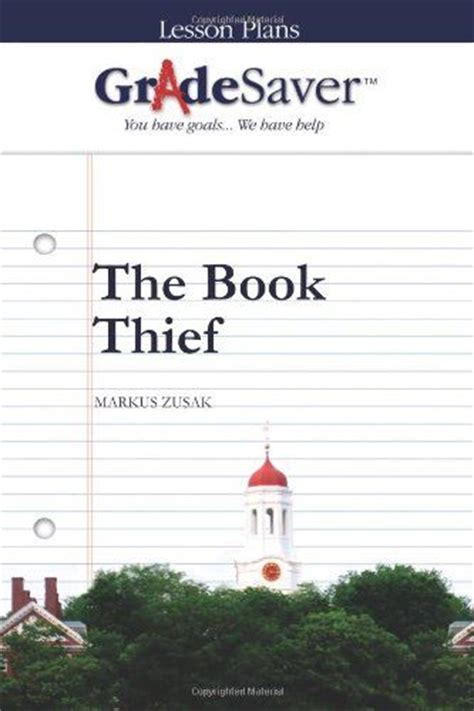 The Book Thief Essay Notes by The Book Thief Lesson Plans And Study On