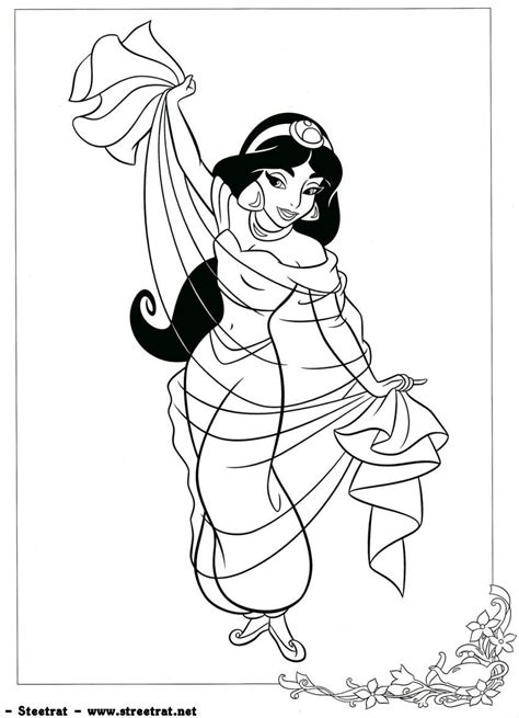 disney princess jasmine coloring pages free coloring pages of disney prinzessinnen