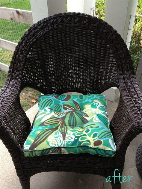 spray paint chairs black black spray painted wicker chair rust oleum spray paint