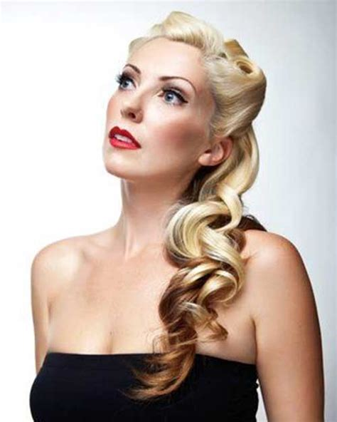 Pin Up Hairstyles by 25 Pin Up Hairstyles For Hair Hairstyles 2016
