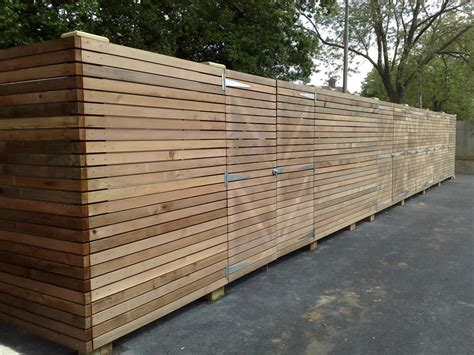 Decorative Acoustic Panels Timber Wooden Fencing Supply And Fencing Contractors