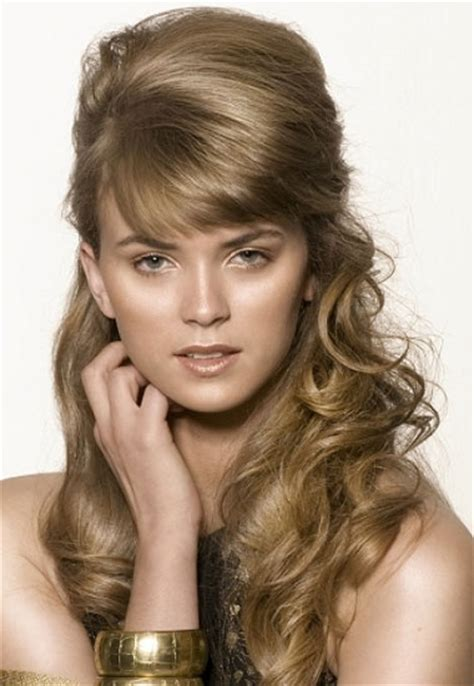 pictures of hairdos up half updo hairstyles beautiful hairstyles