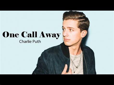 charlie puth mp3 one call away charlie puth one call away 가사 발음 해석 mv 네이버 블로그